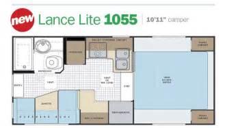 Lance Rv Floor Plans by Slide In Truck Campers By Lance Camper Manufacturer