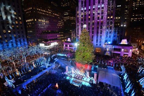 Rockefeller Center Tree Lighting 171 Cbs New York Manhattan Tree Lighting