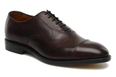 edmonds park allen edmonds park avenue lace up shoes in burgundy at sarenza co uk 105434