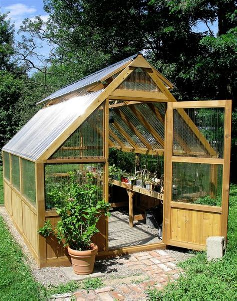 backyard greenhouse plans diy best 25 greenhouse shed ideas on pinterest plant shed