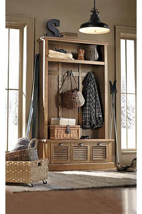 shutter locker style mudroom storage unit  home