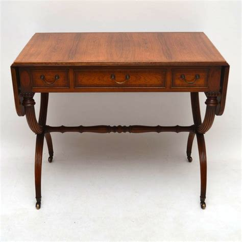 rosewood sofa table antique regency style rosewood sofa table marylebone