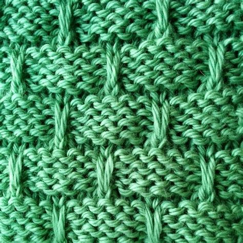 basketweave scarf pattern knitting slip stitch basketweave stitch purl avenue
