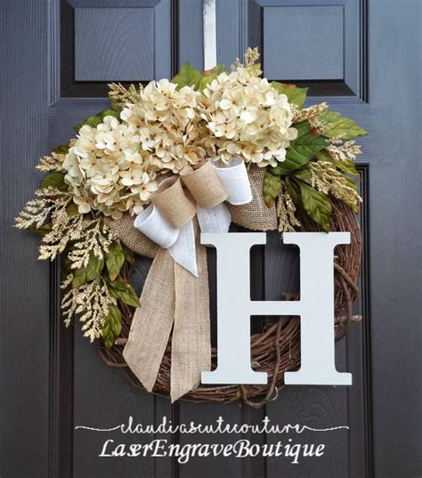 door wreath best 25 year wreath ideas on letter