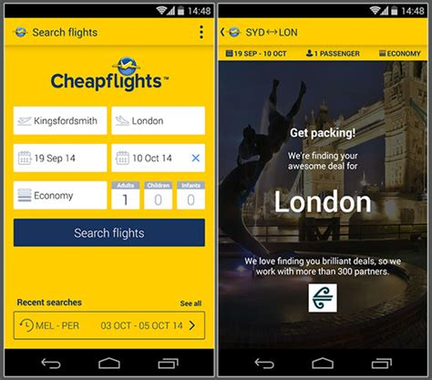 bargain flight apps travel at a fair price