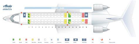 canadair regional jet seating seat map canadair crj 700 alaska airlines best seats in