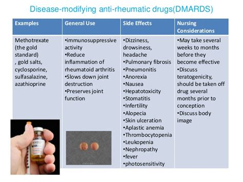 methotrexate and mood swings rhemutoid arthritis