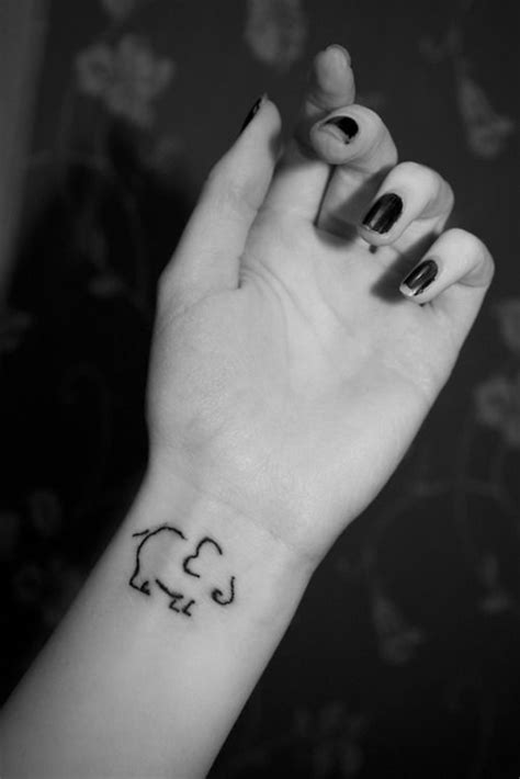 elephant tattoo designs wrist 45 elephant tattoos designs on wrists