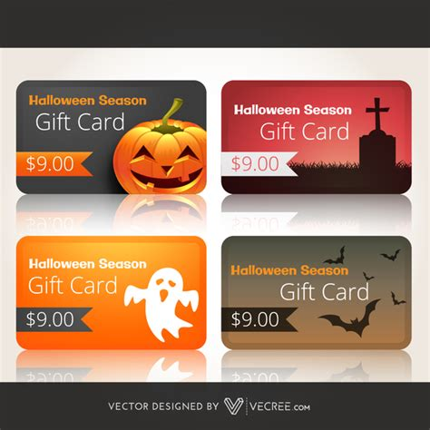 halloween gift cards festival collections - Halloween Gift Cards