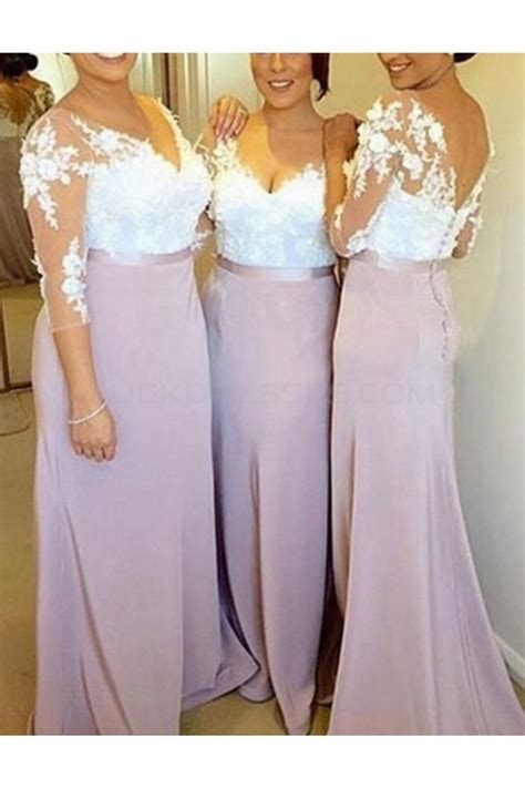 Discount Lace Wedding Dresses by Wedding Dress V Neck Lace Sleeves Discount Wedding Dresses