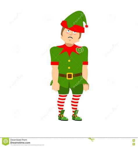 imagenes de santa claus triste duende triste de la navidad ayudante triste de santa claus