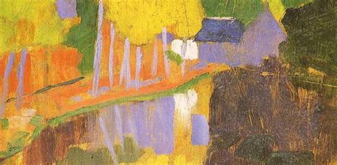 Contemporary Style Home by Le Talisman By Paul Serusier The 1888 Landscape That
