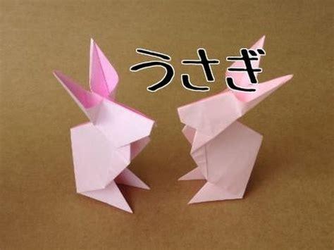 Origami Jumping Rabbit - 折り紙 うさぎ の立体的な折り方 お月見飾りにも origami rabbit cp