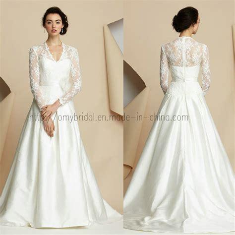 hochzeitskleid langarm china sleeve lace wedding dress 14 china