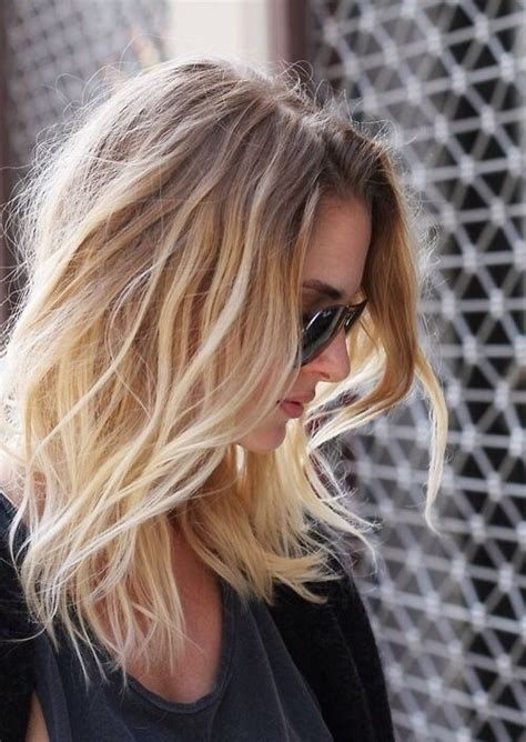 Ombre Hair For Medium Length Hair | pretty ombre hairstyle for fine hair medium length