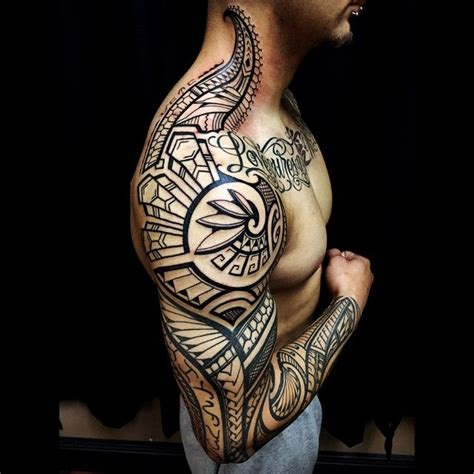 tattoo punggung 3d top 100 best sleeve tattoos for men cool design ideas