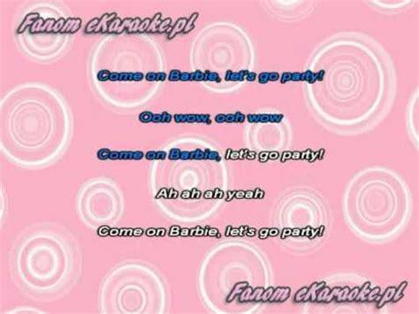 Aqua barbie girl karaoke free download