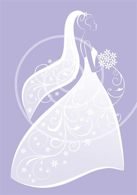 Bride in white wedding dress bridal shower weddingillustree