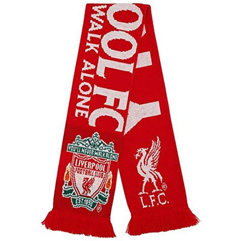 knitting pattern liverpool scarf liverpool fc authentic epl knit scarf wt import it all
