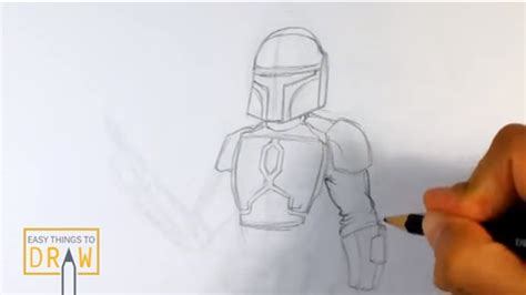 Easy Things To Draw From Wars by Easy Things To Draw Boba Fett From Wars 05 Easy