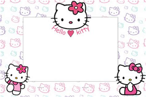 hello kitty printable greeting cards hello kitty party free printable invitations is it for