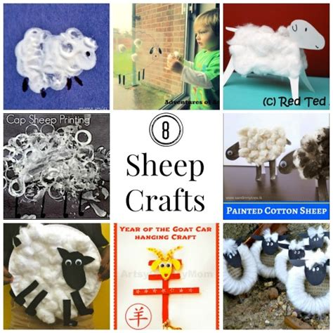 new year 2015 goat or sheep craft sheep crafts for new year easter or eid