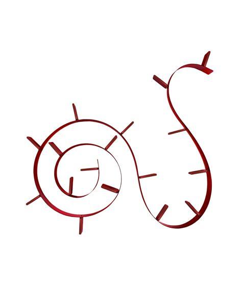 kartell libreria kartell bookworm rosso vino librerie librerie design