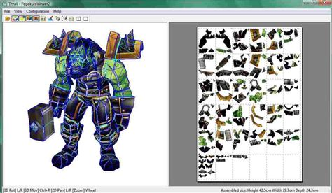 Papercraft Viewer - thrall papercraft