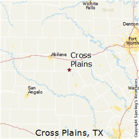 crossroads texas map best places to live in cross plains texas