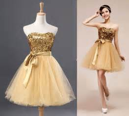 Cheap Wedding Dresses Online Gold Short Prom Dress Tulle Dress Bridesmaid Dress By Dressstories 89 00 Love Amp Marriage