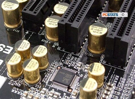motherboard solid capacitors ecs z77h2 a2x pcstats review all that glitters isn t really gold