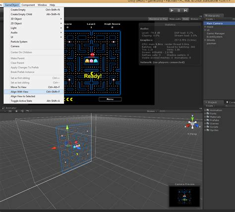 unity reset layout game design unity change sceneview to camera view game