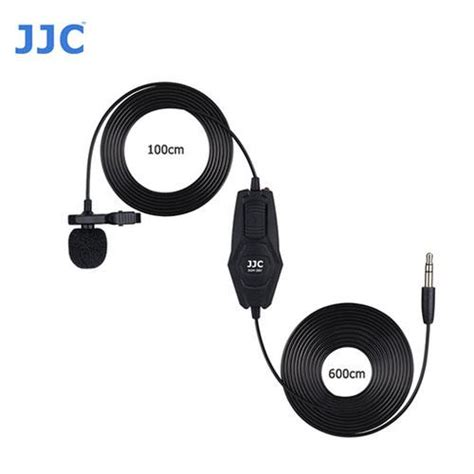 Jjc Clip On Omnidirectional Microphone Sgm 38ii For Canon Nikon Dslr sgm 38ii omnidirectional lavalier microphone f nikon d850 d810 d500 d7200 d5600 6950291504708 ebay