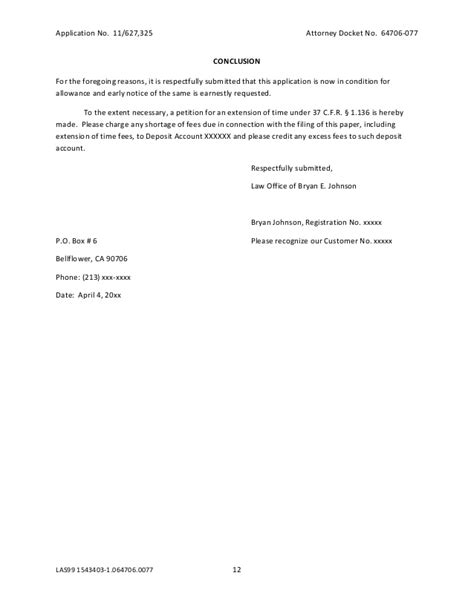 Office Of Allowances by Writing Sle Uspto Office Response By Bryan Johnson