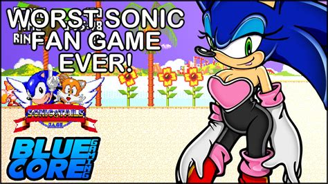 sonic fan made games the worst sonic fan games sonic tails youtube