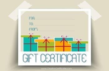 Gift Card Enclosures Template by Free Gift Certificate Templates The Grid System