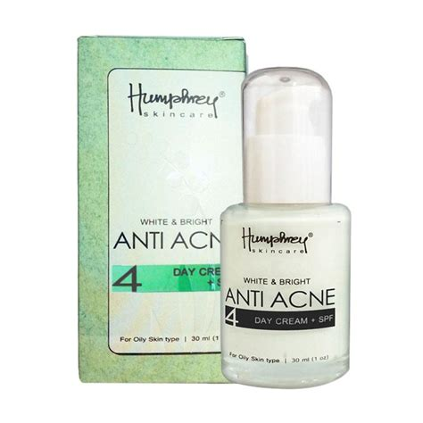 jual humphrey skin care white bright anti acne day 30 ml harga kualitas