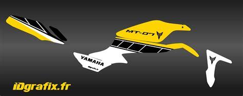 Aufkleber Yamaha Mt 07 by Kit Dekor Factory Gelb Idgrafix Yamaha Mt 07 Idgrafix