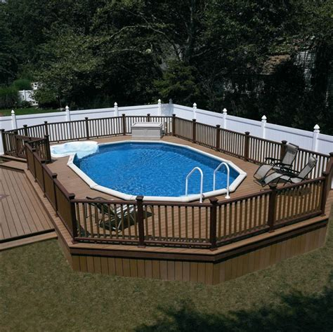 backyard swimming pools above ground 126 best above ground pool decks images on