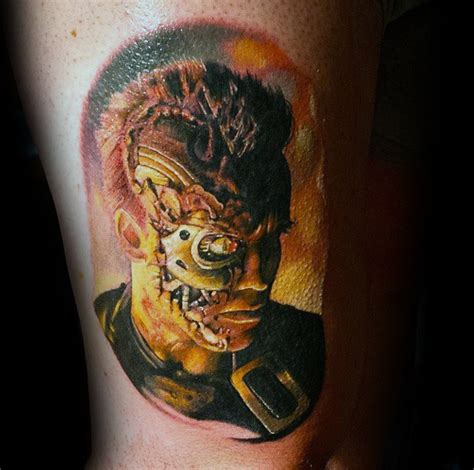 terminator tattoo designs 60 terminator designs for manly mechanical