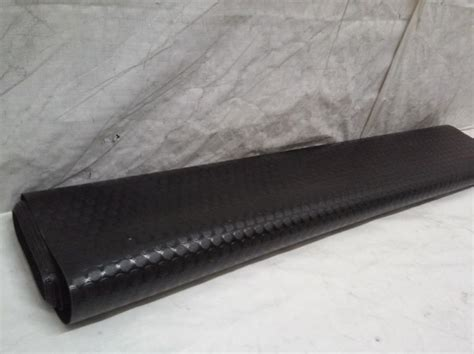 rubber cal coin grip flooring and rolling mat black ebay