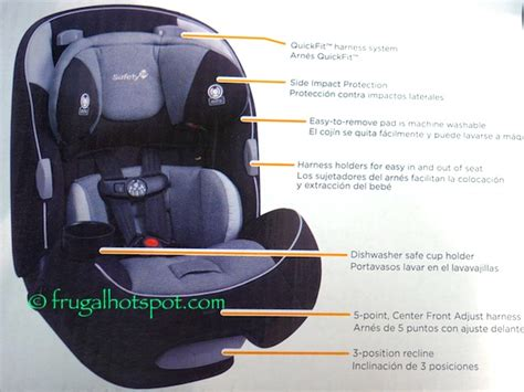safety 1st car seat 3 in 1 costco costco sale safety 1st multifit 3 in 1 car seat 79 99