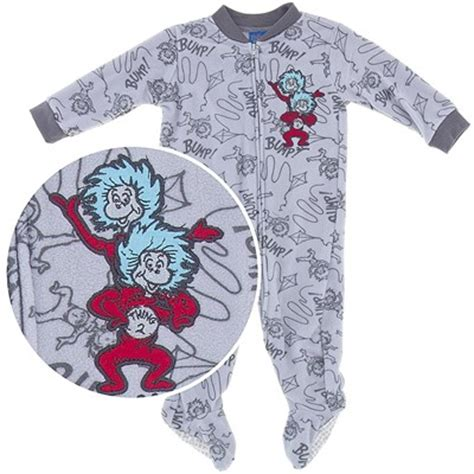 Thing 1 And Thing 2 Sleepers by Boy S Infant Footed Blanket Sleepers Boy S Infant Pajamas