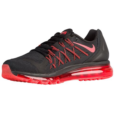nike max air running shoes where to shop mens nike air max 2015 running shoes black