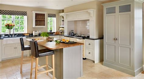Farrow And Shaded White Kitchen Units by Modern Country Style Farrow And Shaded White With