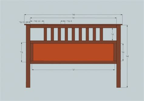 farmhouse headboard plans king size headboard dimensions plans inspired fancy