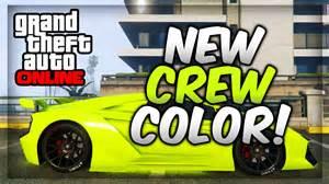 gta v crew colors gta 5 paint best modded crew colors 19