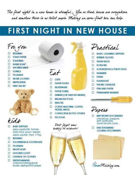 items needed for a new house 25 best ideas about home checklist on