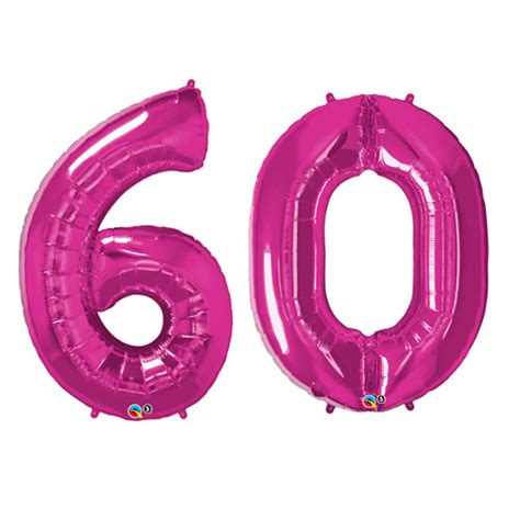 giant number  foil balloons pink amazingballoonscouk