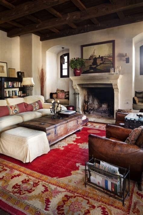 Antique Modern Living Room Design House In A Combination Of Antique And Modern Styles Digsdigs